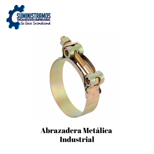 Abrazadera Metálica Industrial