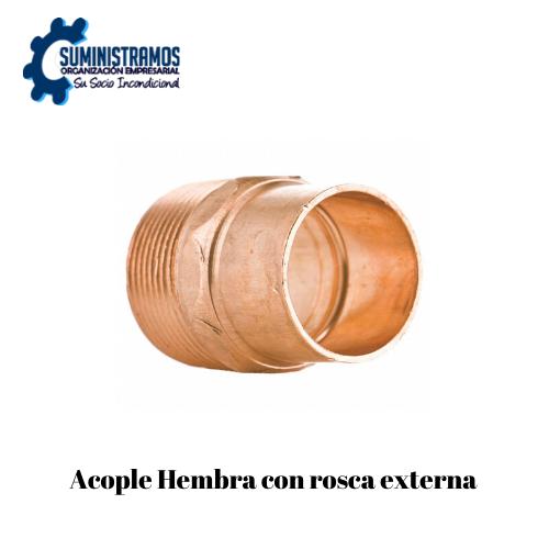 Acople Hembra Con Rosca Externa