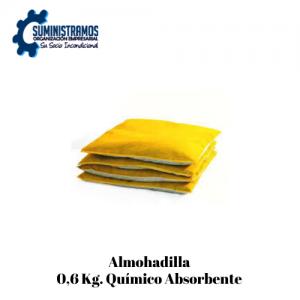 Almohadilla 0,6 Kg. Químico Absorbente