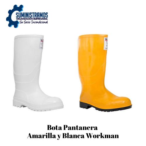 Bota Pantanera Amarilla Workman