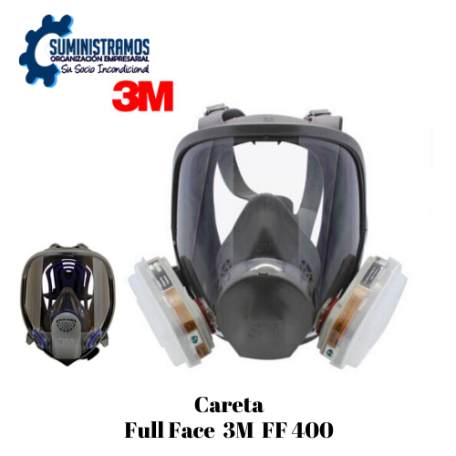 Careta Full Face 3m Ff400