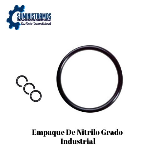 Empaque de nitrilo grado industrial