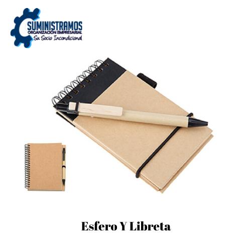 Esfero Y Libreta