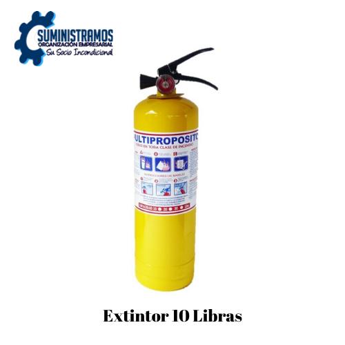 Extintor 10 Libras