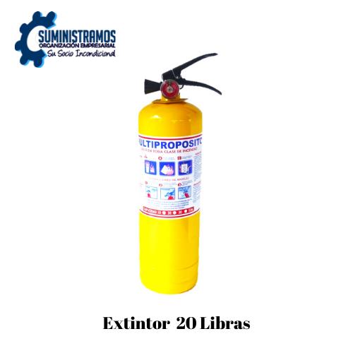 Extintor 20 Libras