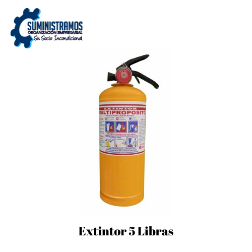 Extintor 5 Libras