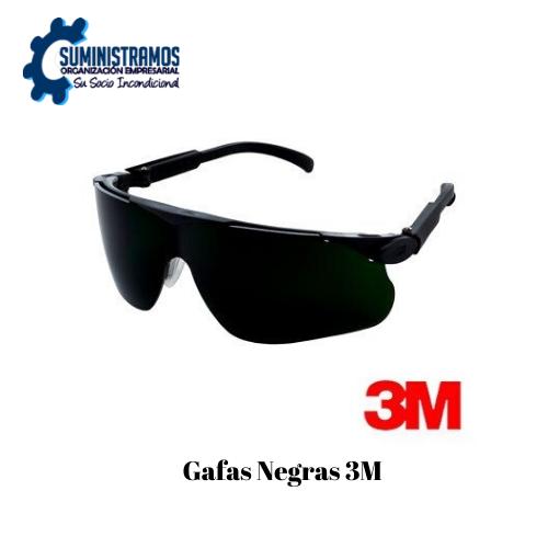 Gafas Negras 3M