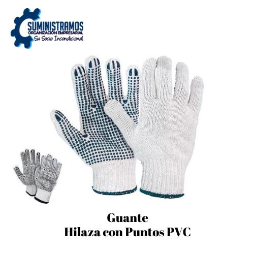 Guante Hilaza con Puntos PVC