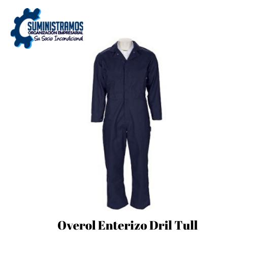 Overol Enterizo Dril Tull