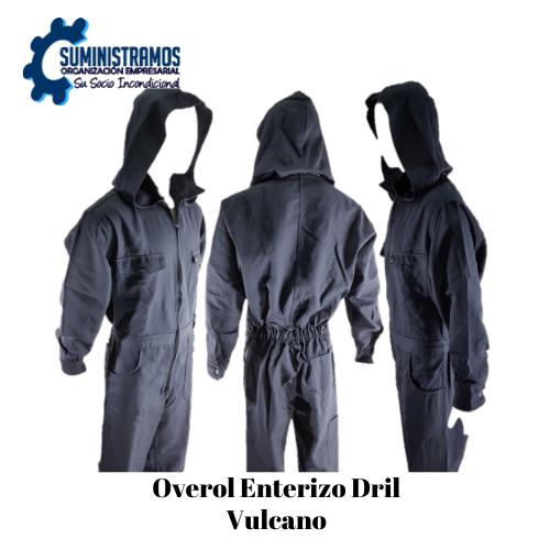 Overol Enterizo Dril Vulcano