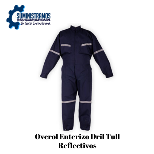 Overol Enterizo Drill Tull Reflectivos