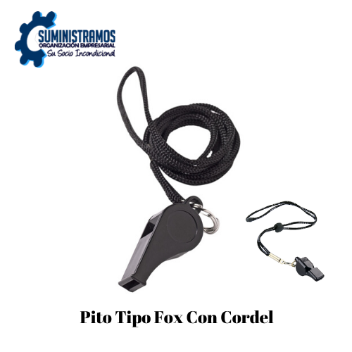 Pito Tipo Fox con Cordel