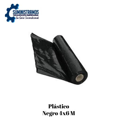 Plástico Negro 4x6 M