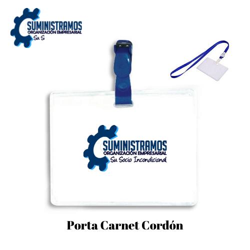 Porta Carnet Cordón