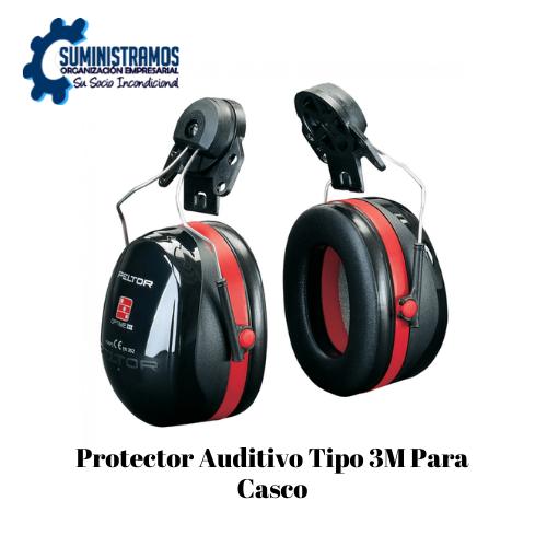 Protector Auditivo Tipo 3M Para Casco Certificado