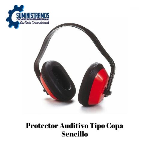 Protector Auditivo Tipo Copa Sencillo