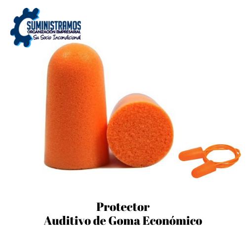 Protector Auditivo de Goma Económico