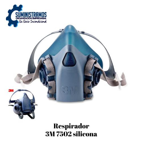 Respirador 3M 7502 Silicona