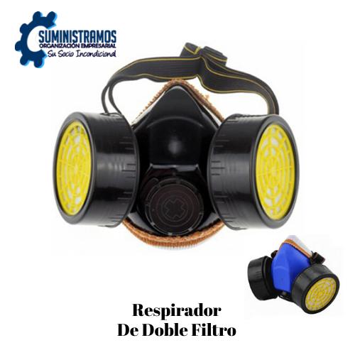 Respirador de Doble Filtro