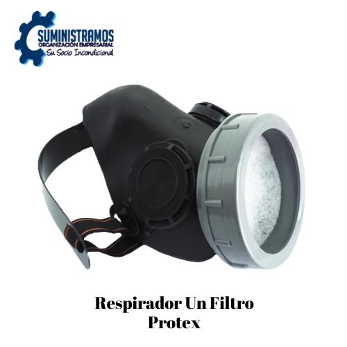 Respirador un Filtro Protex