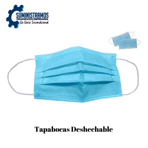 Tapabocas Desechable