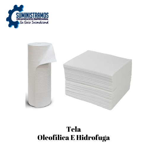 Tela Oleofílica e Hidrofuga