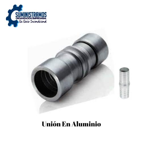 Unión En aluminio