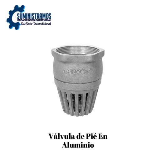Válvula de Pié En aluminio