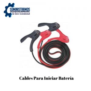 Cables Para Iniciar Batería