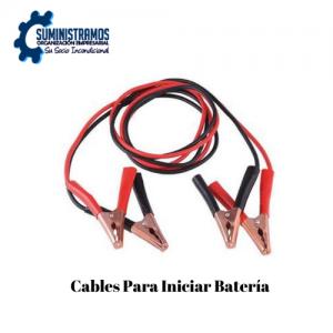 Cables Para Iniciar Batería (2)