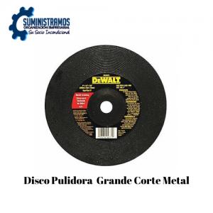 Disco Pulidora Grande Corte Metal