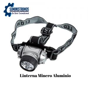 Linterna Minero Aluminio